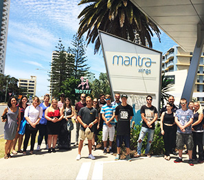 TTW-Workshops - Discovery days group at the Mantra Hotel Surfers Paradise